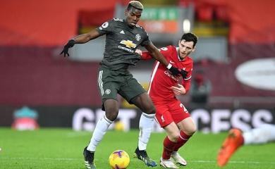 Tại sao Pogba chơi ở cánh phải cho MU trước Liverpool?