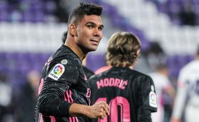 Casemiro của Real Madrid ghi bàn tốt bằng cả đội hình... Barca