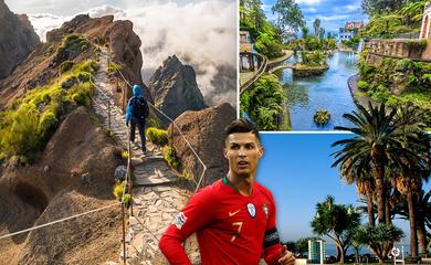 Ronaldo vận động bầu chọn hòn đảo quê hương tốt nhất châu Âu