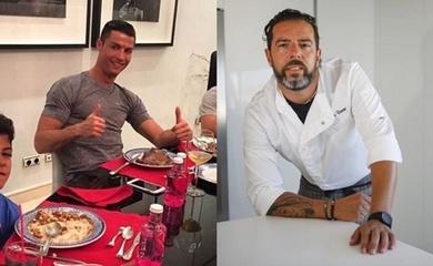 """Hé lộ thú vị về đầu bếp """"độc quyền"""" của Cristiano Ronaldo"""