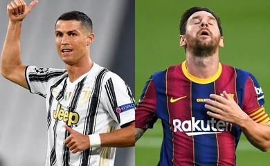 Ronaldo vượt mặt Messi để trở thành VĐV được yêu thích nhất