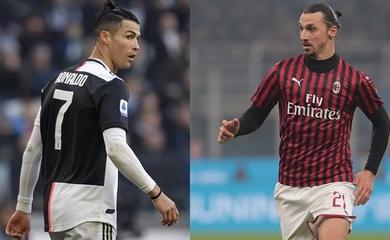 Ronaldo hay Ibrahimovic bật cao hơn khi đánh đầu ghi bàn?