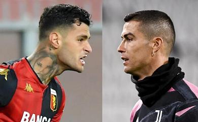 Tiền đạo của Genoa tốt hơn Ronaldo về ghi bàn ở Coppa Italia