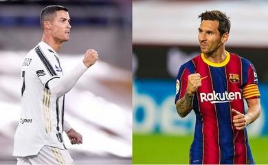 Kỳ lạ Messi và Ronaldo ghi bàn bằng phạt đền gần như cùng lúc
