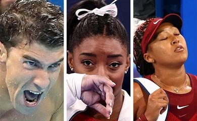 """Những ngôi sao thể thao từng suýt tàn sự nghiệp vì """"sức khỏe tâm lý"""""""