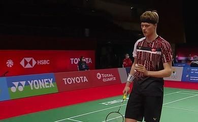 Kết quả cầu lông Thái Lan mở rộng hôm nay:Anders Antonsen trở lại mạnh mẽ