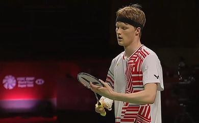 Kết quả cầu lông Thái Lan mở rộng bán kết hôm nay:Antonsen gặp Axelsen!