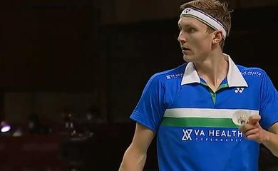 Trực tiếp cầu lông World Tour Finals hôm nay:Tâm điểm Axelsen vs Gingting
