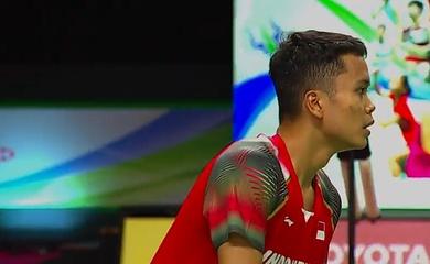 Kết quả cầu lông Thái Lan mở rộng: Christie và Ginting vào vòng 2