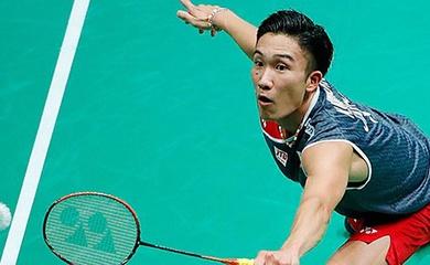 Kết quả cầu lông Đan Mạch mở rộng 21/10: Momota, Lee Zii Jia, Chou Tien Chen qua vòng 2