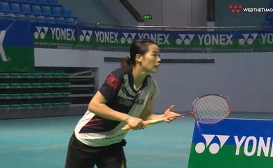"""Kết quả giải vô địch cầu lông Cá nhân toàn quốc: Thùy Linh củng cố ngôi số 1 nữ, Tiến Minh vẫn là """"Độc Cô Cầu Bại"""""""