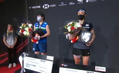 Trực tiếp cầu lông chung kết Đan Mạch mở rộng 24/10: Yamaguchi vô địch quá bá đạo