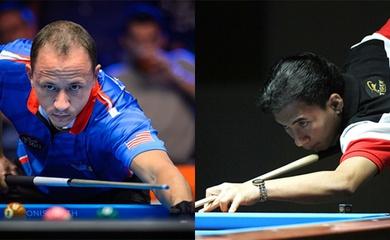 """Dennis Orcollo vs Shane Van Boening: Trận đấu siêu cấp làng pool thế giới giữa """"Vua săn tiền"""" Philippines với đệ nhất cơ thủ Mỹ"""