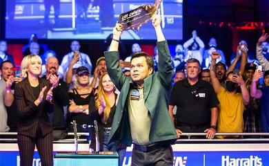 Tân vô địch US Open 2021: Carlo Biado từ xách túi golf thành ông hoàng pool 9 bi