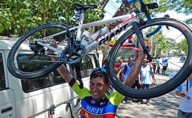 Xe đạp Philippines tự tin có HCV SEA Games 31