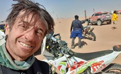 Cái chết đầu tiên của năm trên đường đua mô tô Dakar Rally
