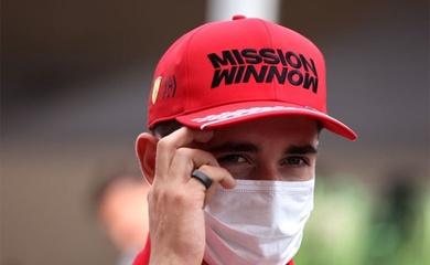 Tay đua F1 Charles Leclerc dự Grand Prix Mỹ muộn do lãnh đạo sân bay Pháp thiếu kiến thức