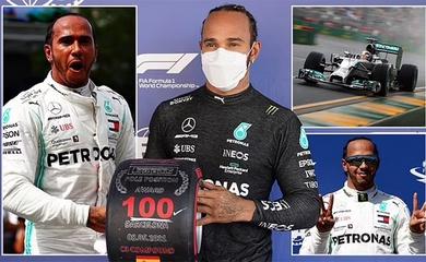 Lewis Hamilton đào sâu kỷ lục: Chạm mốc 100 pole F1 tại Grand Prix TBN