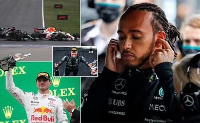 Kết quả F1 mới nhất: Verstappen vượt qua Hamilton, Mercedes đùn đẩy trách nhiệm