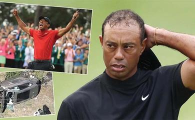 Xe sang cứu mạng golfer Tiger Woods sau tai nạn giao thông khủng khiếp