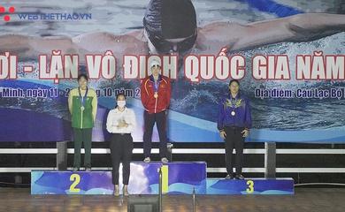 Kết thúc giải bơi VĐQG 2020: Quân Đội nhất toàn đoàn, Ánh Viên chạm mốc 14 HCV