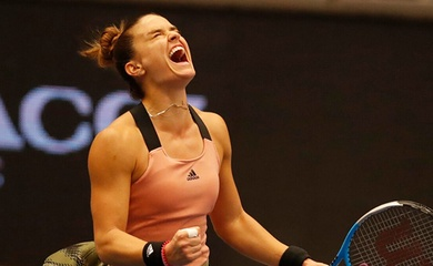 Kết quả tennis mới nhất: Sakkari nhắm tới WTA Finals, Soonwoo Kwon đi vào lịch sử
