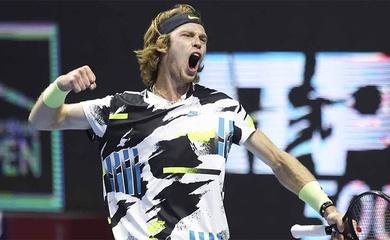 Vô địch giải tennis St Petersburg Open: Rublev vừa lập kỳ tích chỉ có Djokovic sánh ngang trong năm 2020