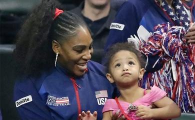 Sao tennis Mỹ Serena Williams chấp nhận cho con gái nối nghiệp