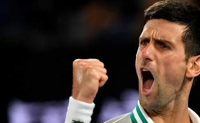 Djokovic xô ngã kỷ lục số 1 thế giới của Federer