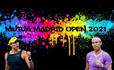 Lịch thi đấu và kết quả tennis mới nhất của giải Madrid Open 2021