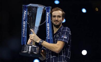 Kết quả Medvedev vs Thiem: Medvedev ngược dòng thành tân vô địch ATP Finals