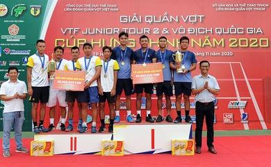 Nam Hải Đăng 1 và nữ Quân Đội đăng quang giải quần vợt VĐQG