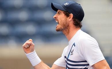 Kết quả tennis mới nhất: Murray lại vào tứ kết, Antoine Hoang trốn không thoát Gojowczyk