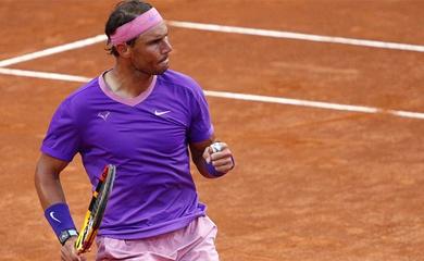 Kết quả tennis Rome Open mới nhất:Nadal dạy sao trẻ bài học, Serena Williams ngã ngay rào đầu tiên!