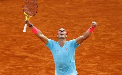 Nadal nghĩ gì sau khi thắng Djokovic 6-0 ở set 1 chung kết giải tennis Roland Garros 2020?