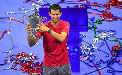 BXH tennis mới nhất: Djokovic bắt kịp Sampras, Thiem uy hiếp Nadal