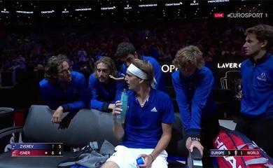 Kết quả tennis Laver Cup mới nhất:Châu Âu vẫn toàn thắng trận đơn