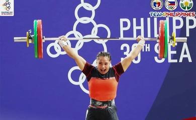 Cử tạ Philippines tự tin nhiều Vàng hơn ở SEA Games 31