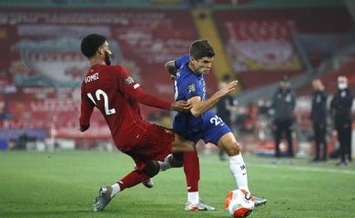 Lịch sử đối đầu, đội hình Chelsea vs Liverpool, Ngoại hạng Anh 2020
