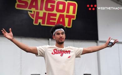 Chùm ảnh: Christian Juzang hội ngộ các đồng đội Saigon Heat tại SPBL 2020