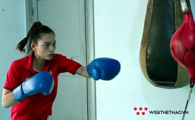 Võ sỹ Nguyễn Thị Tâm nói gì về mục tiêu kiếm vé dự Olympic 2020?