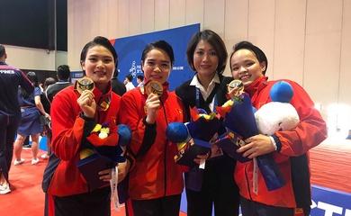 Nữ hoàng Kata Nguyễn Hoàng Ngân và giấc mộng Olympic cùng các học trò nhỏ