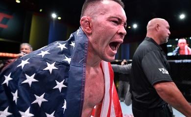 Colby Covington ra tuyên bố đanh thép với cú siết knockout Tyron Woodley