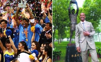 Vì sao cầu thủ bị NBA đào thải lại được người Trung Quốc dựng tượng, xây bảo tàng?