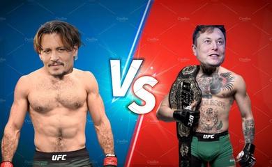 Tỉ phú Elon Musk bóng gió rủ tình địch Johny Depp đấu MMA