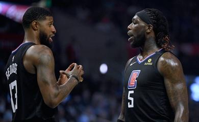 Hé lộ mâu thuẫn nội bộ Clippers giữa Paul George vs Montrezl Harrell