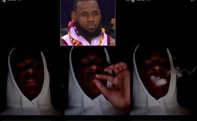 Video: Con trai LeBron James gây sốc khi công khai... hút cần?