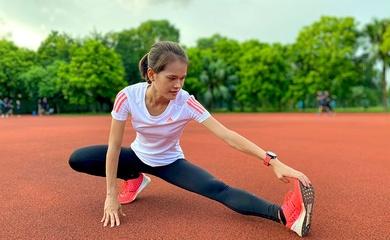 """""""Cô gái đồng"""" marathon SEA Games 30 khổ luyện chờ Boston Marathon"""