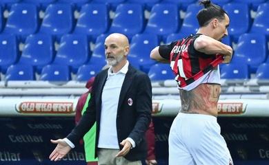 Ibrahimovic nhận thẻ đỏ kỳ lạ trong trận Milan thắng Parma