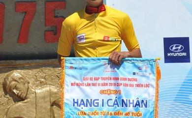 Vua cá nhân tính giờ VN hụt áo vàng chặng 1 giải xe đạp TH Bình Dương 2019
